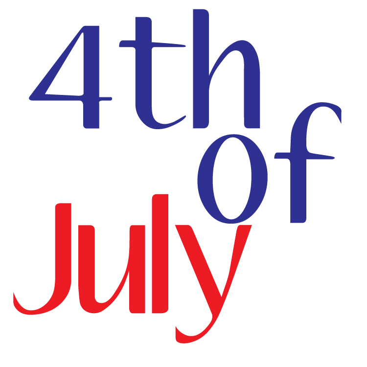 Free 4th Of July Clipart and graphics to print or use on websites!