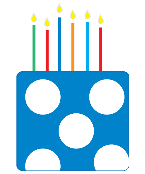 free happy birthday clipart and graphics to for invitations  banners and more blue polka dot border clip art blue and white polka dot clip art