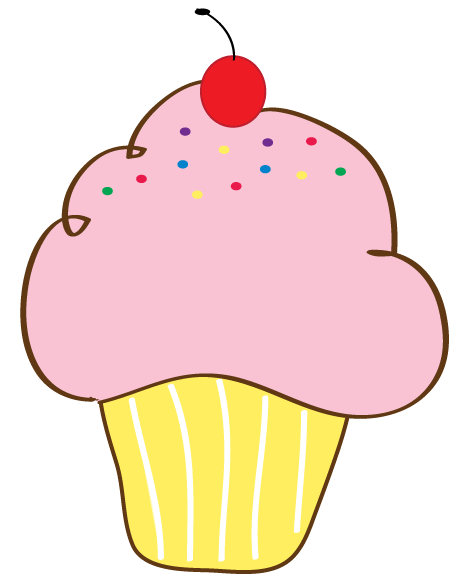 Free Cupcake Clipart : Free Cupcake Clipart Pictures and FREE printable cupcake ...