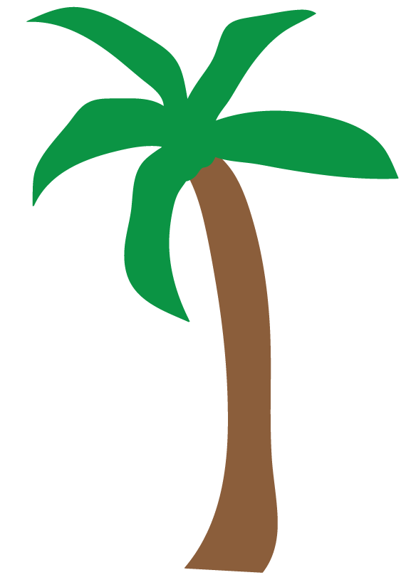 free palm tree clipart for you to use in craft projects clipart palm tree png clip art palm tree plan view