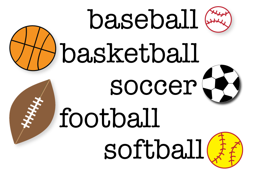 graphic regarding Basketball Clipart Free Printable titled Cost-free Sports activities Clipart for get-togethers, crafts, higher education jobs