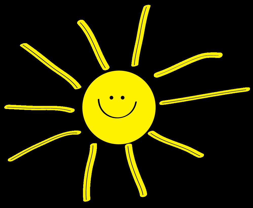 Sun Clipart on Fun Spring Bulletin Boards