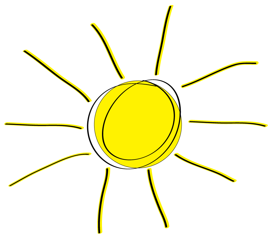 Free Sun Clipart to decorate for parties, craft projects ...