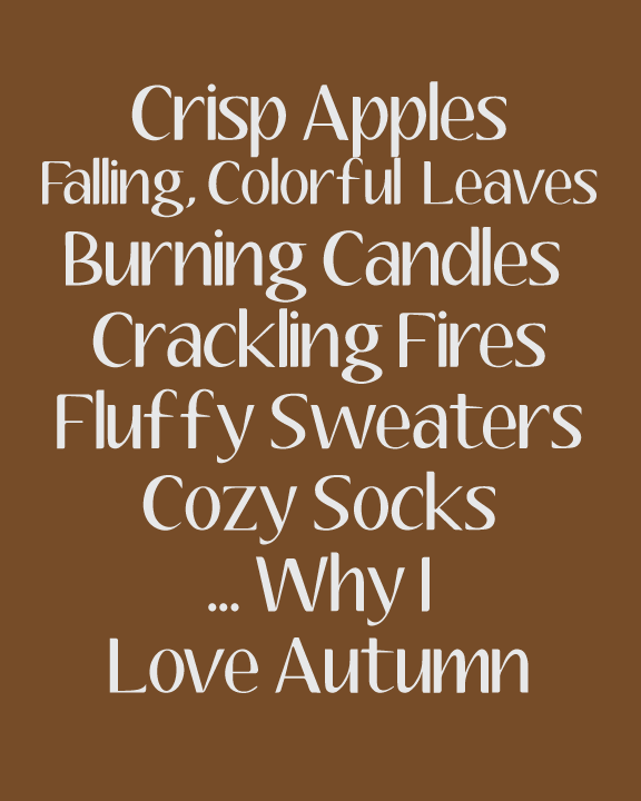 Free Autumn Clipart For Party Decor, Crafts And More