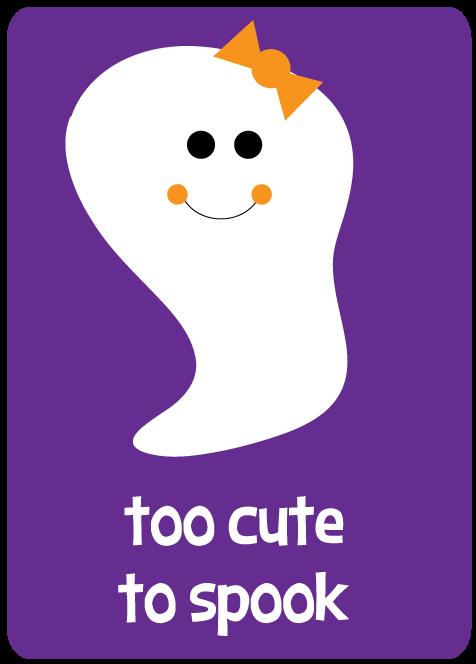 Pics Photos - Too Cute To Spook Clip Art