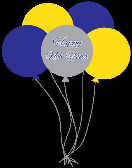 new years balloons clip art - photo #41