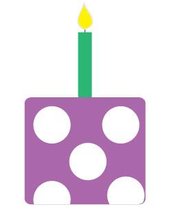 birthday cake graphic