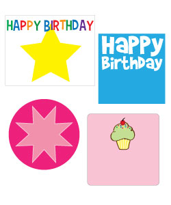 Free Birthday Clipart Printable Favor Tags Pennant Banners Signs And More