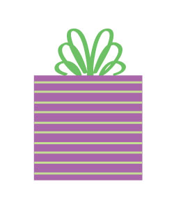 birthday present clip art