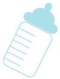 baby bottle clipart