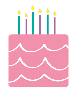 birthday cake clipart