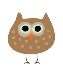 Autumn Owl Clipart